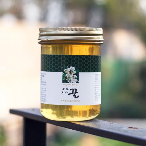 국내산 천연 아카시아꿀 600g