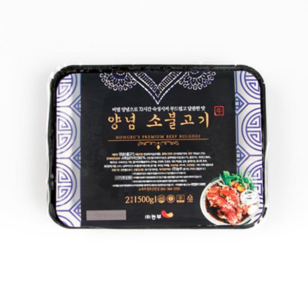 [선물세트] 양념 소 불고기 500x4 세트