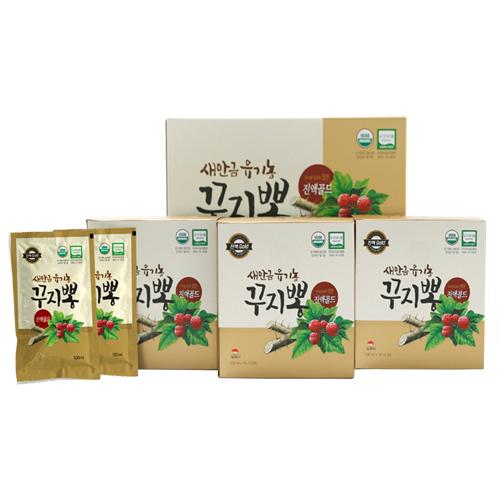[선물세트] 유기농 꾸지뽕 진액 골드 100봉