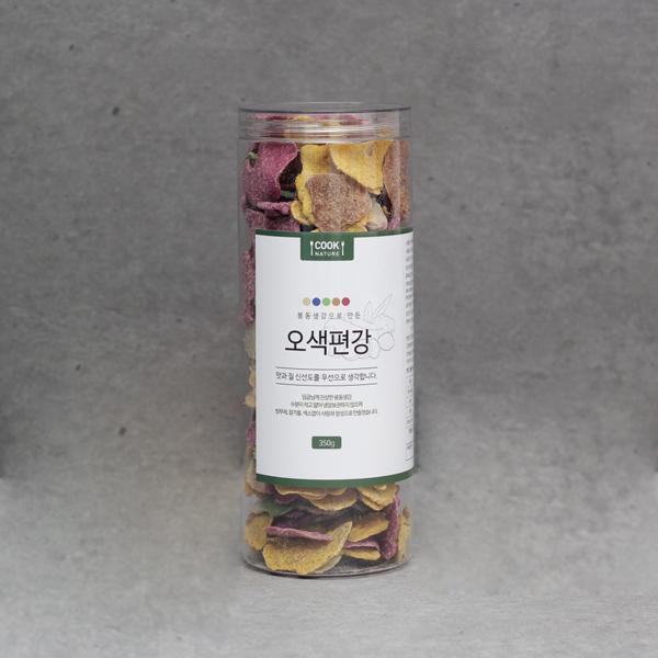 쿡네이처 봉동 오색편강 350g