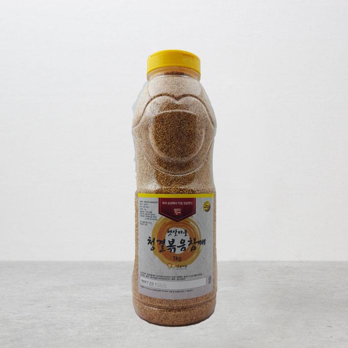 대용량 중국산 청결볶음참깨 1kg