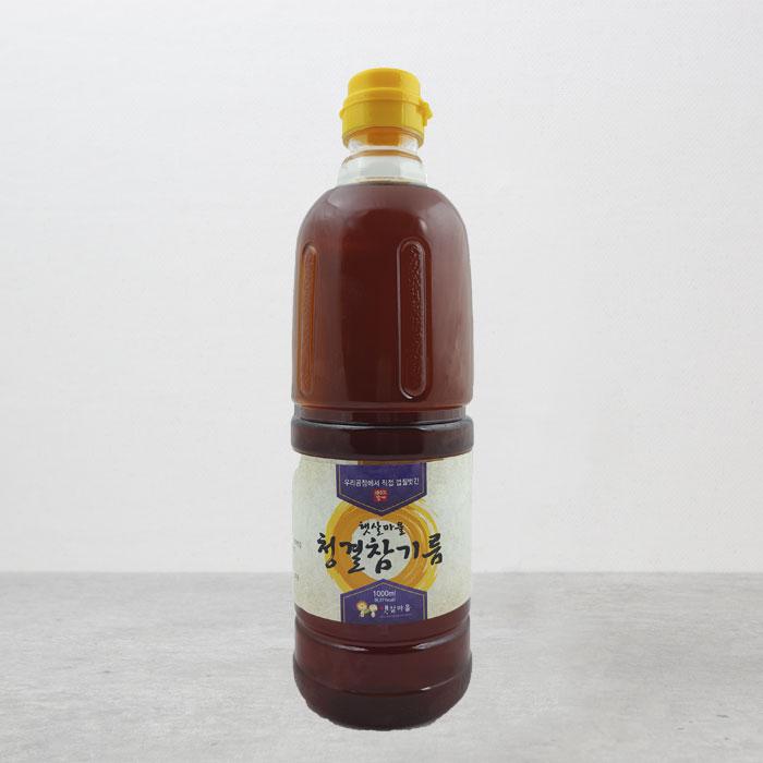 중국산 청결참기름 1000ml