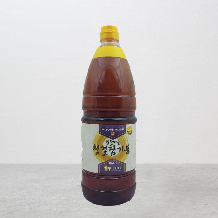 중국산 청결참기름 1800ml