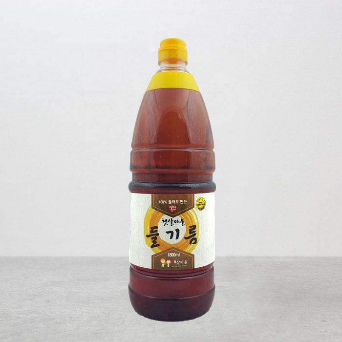 중국산 들기름 1800ml
