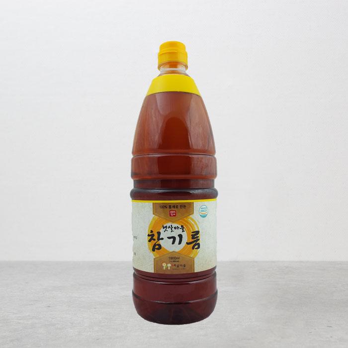 중국산 참기름 1800ml